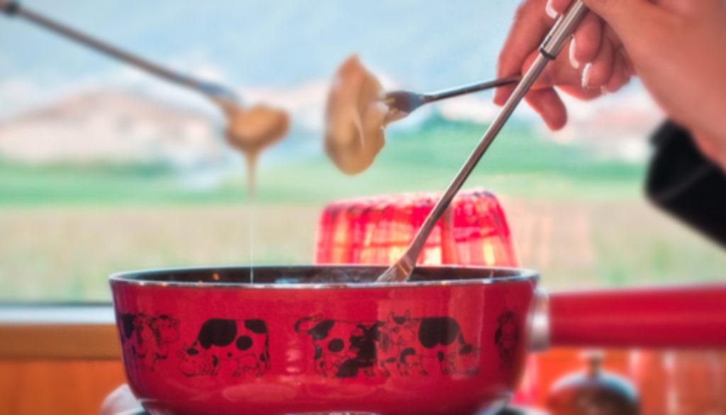 Train fondue